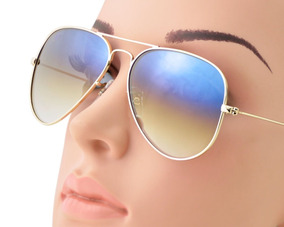 779e4415f Oculos De Sol Aviador Italiano - Óculos De Sol no Mercado Livre Brasil