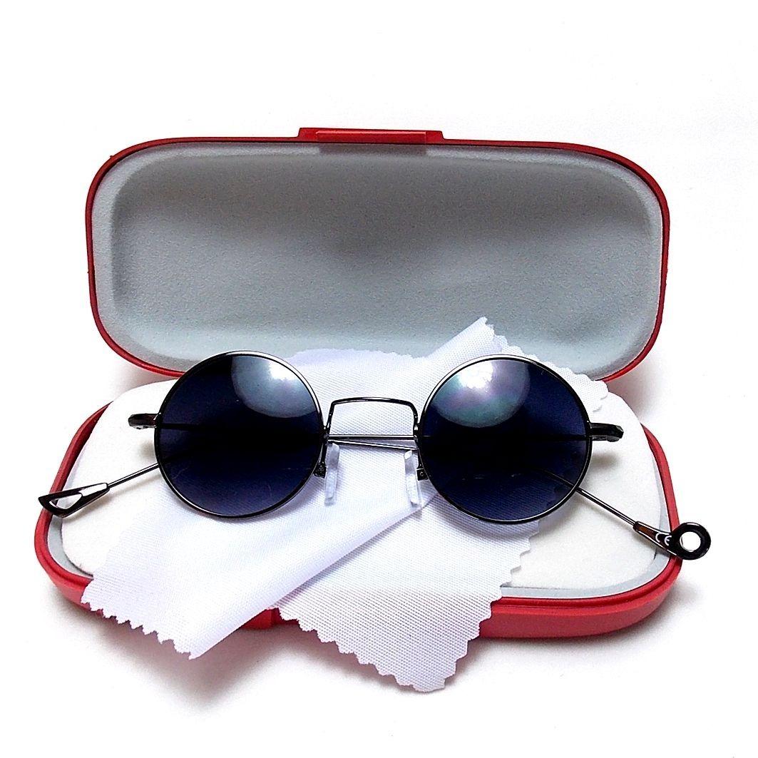 95e03a81d35d0 óculos redondo unissex john lennon, ozzy 4.1 lentes escuras. Carregando  zoom.