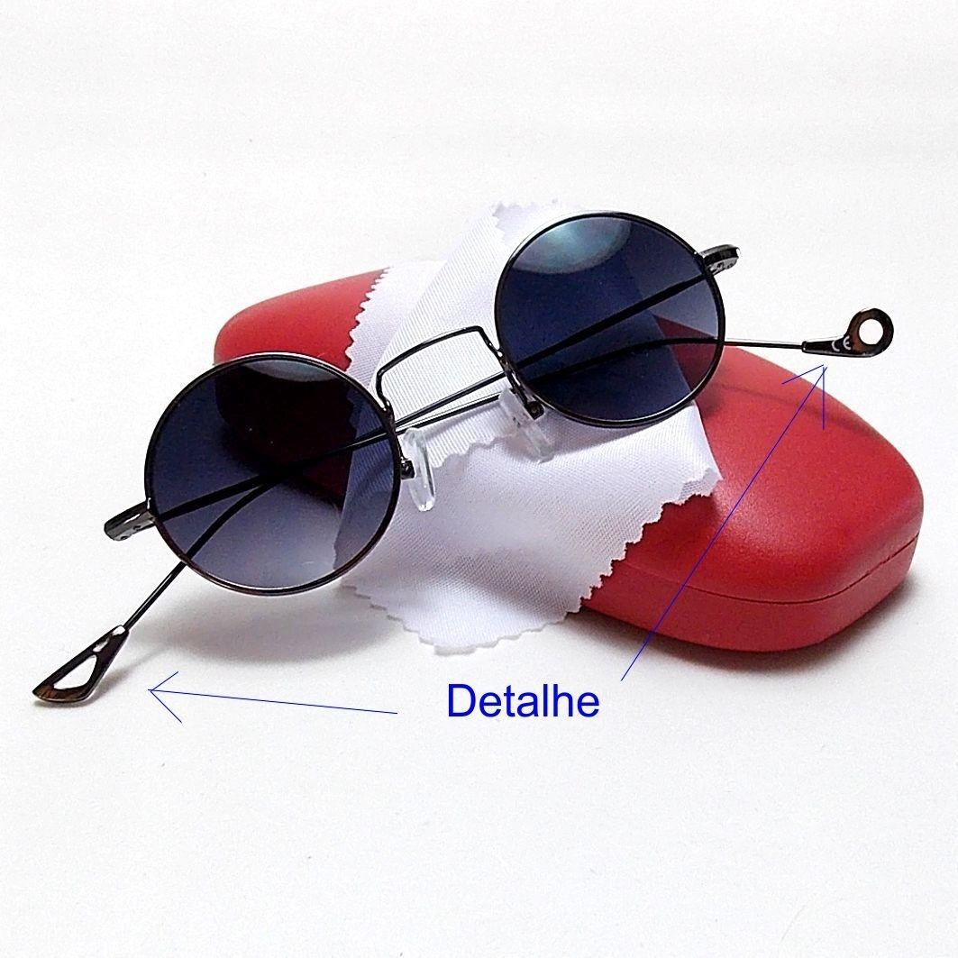 óculos redondo unissex john lennon, ozzy 4.1 lentes escuras. Carregando  zoom. cecd82924f