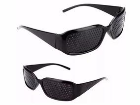 a10a25b97 2 Óculos Reticulado Yoga Auxilia Correção De Grau Miopia