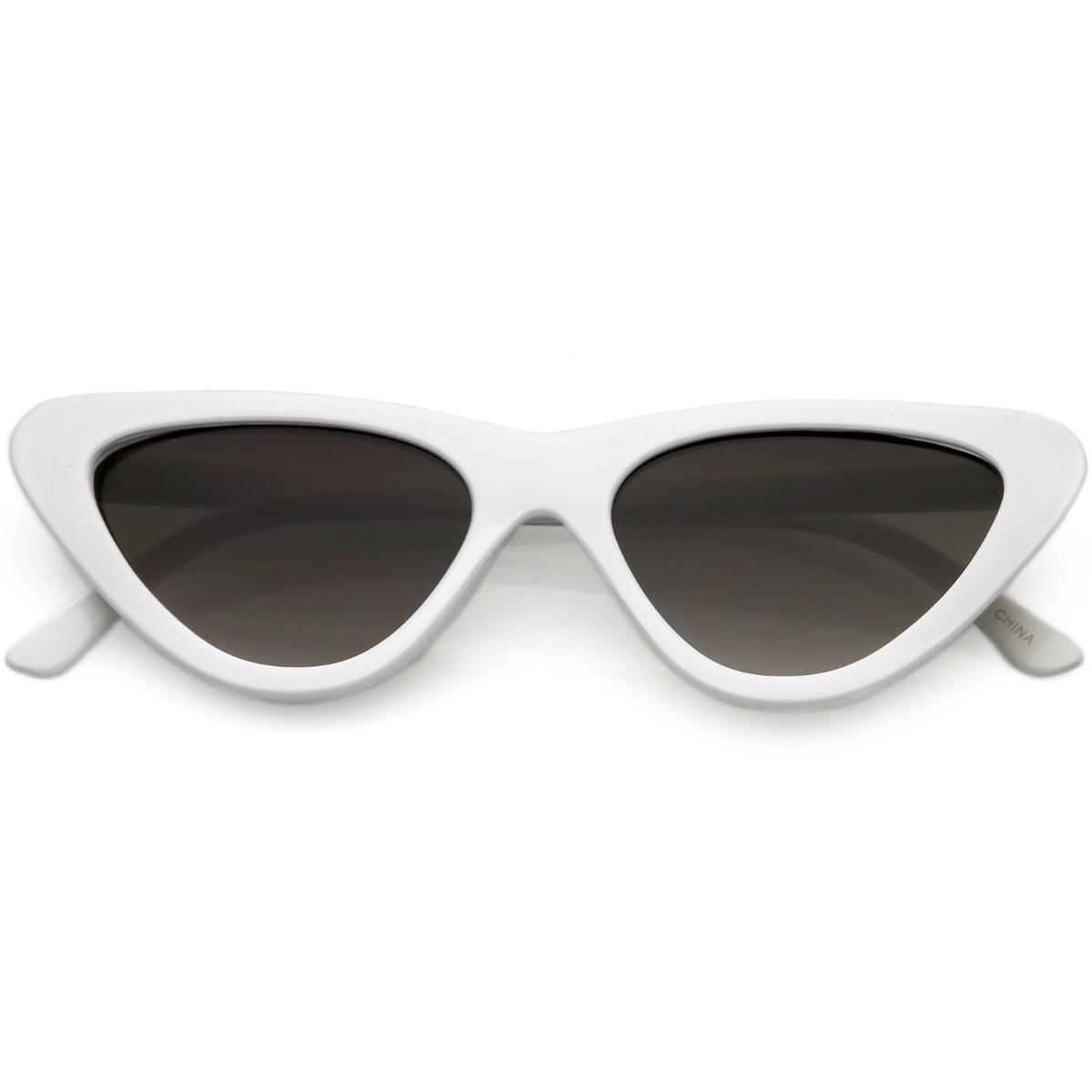 f54b0a0a9 Óculos Retrô Gatinho Branco - R$ 150,00 em Mercado Livre