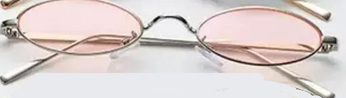 489e2c91a óculos retrô pequeno sol vintage proteção uv400 oval colorid. Carregando  zoom.