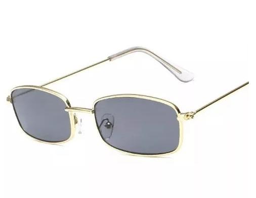 5db9f354c367c Oculos Retro Quadrado Pequeno Rosa Preto Transparente Vintag - R  30 ...