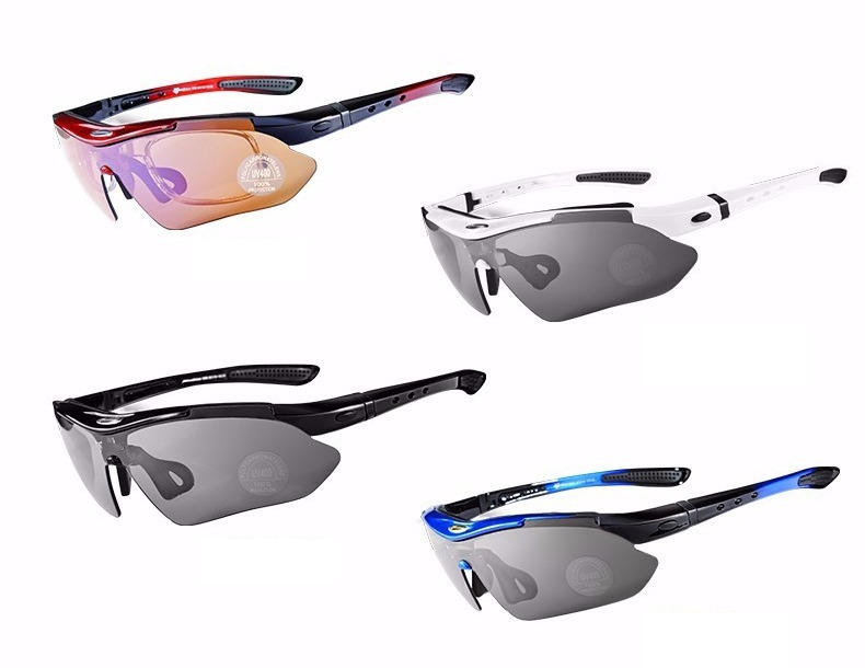 Óculos Rockbros Polarizado 5 Lentes Bike Bicicleta Ciclismo - R  96 ... 3c06d9fa56