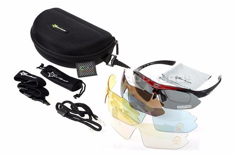 Óculos Rockbros Polarizado 5 Lentes Bike Bicicleta Ciclismo - R  91,00 em  Mercado Livre aac3f4d6a8