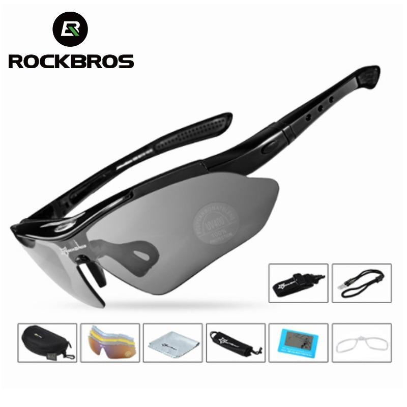 597d4892198fb óculos rockbros polarizado 5 lentes bike bicicleta ciclismo. Carregando  zoom.