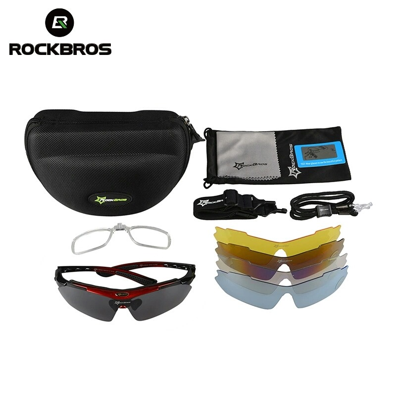 265196fbb75c2 óculos rockbros polarizado 5 lentes bike bicicleta ciclismo. Carregando  zoom.