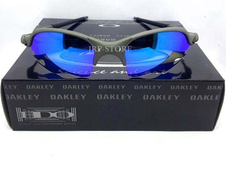 ebc6c465ae0f5 Oculos Romeo 2 Flame Parriot X Metal Lente Magic Blue - R  159