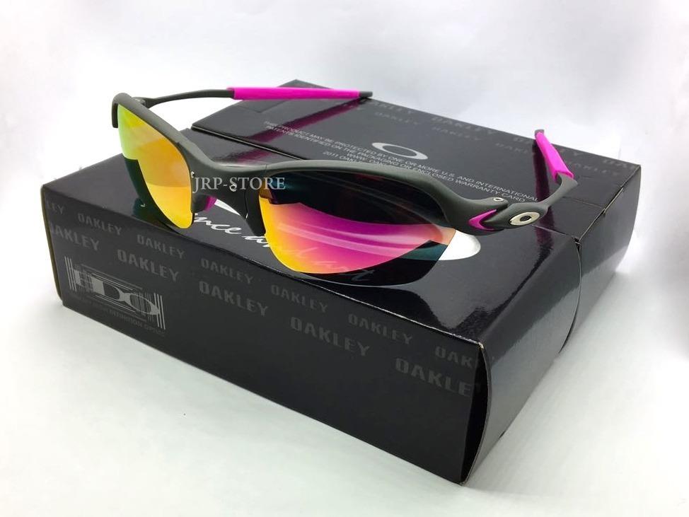 dfc0db4a3bee8 Oculos Romeo 2 X Metal Lentes E Borrachas Rosas Pink - R  159,00 em ...