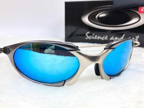 cb193a0c8 Juliet Romeu 2 Azul - Óculos De Sol Oakley no Mercado Livre Brasil