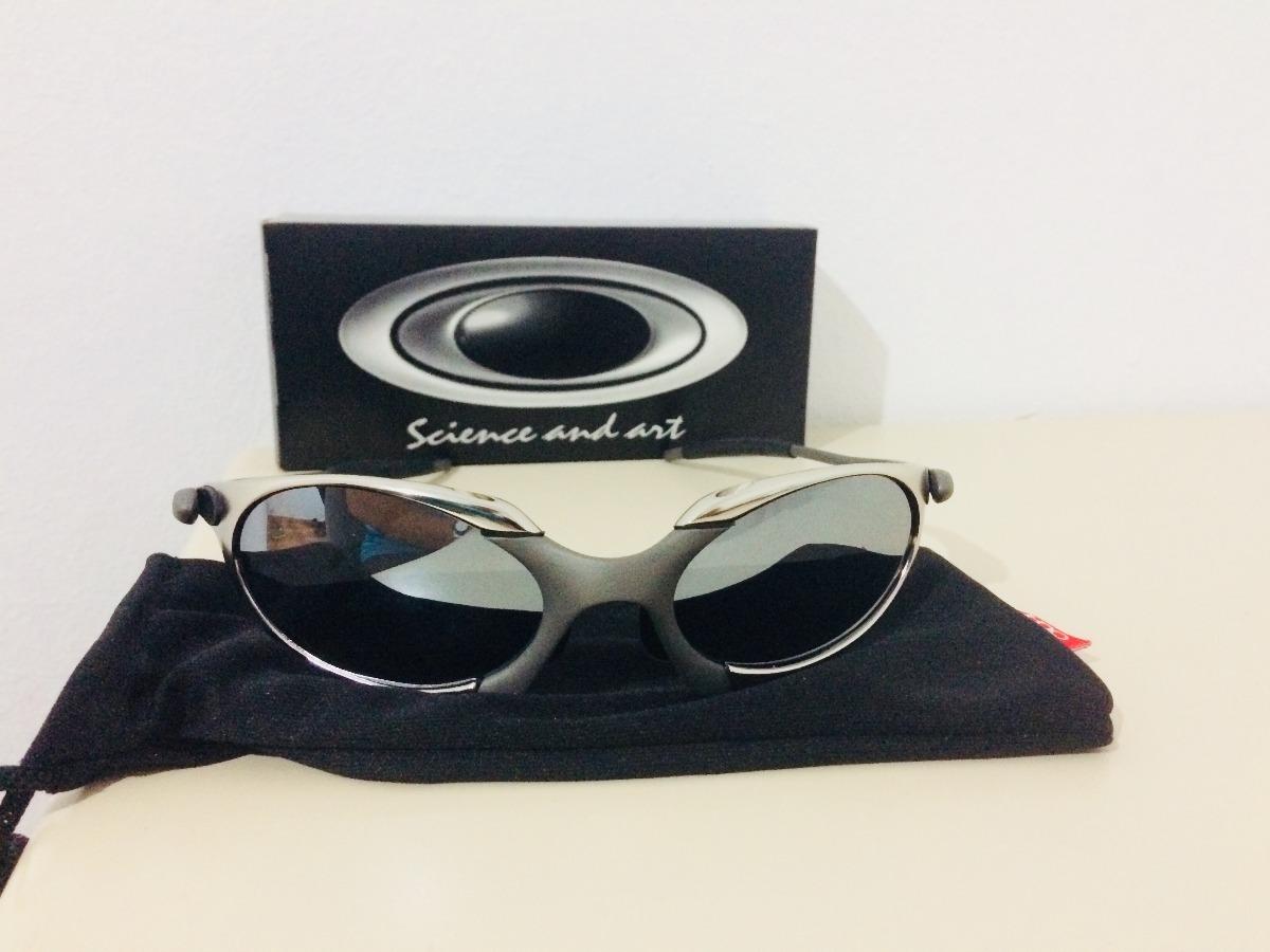 828a085989039 Oculos Romeu 1 Tio 2 Cinza +lente Espelhada Mega Saldao - R  90