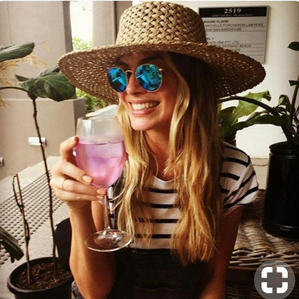 óculos rosa azul prata redondo espelhado unissex retro moda. Carregando  zoom. 29b860902e