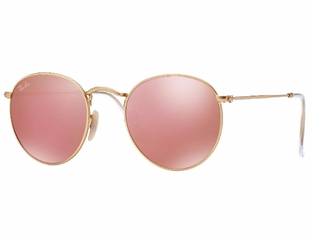 21912c32bc4fe óculos rosa espelhado redondo retrô round john lenonn+brinde. Carregando  zoom.