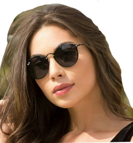 6cc98d4ac Óculos Round Blaze Estiloso Blogueiras Proteção Uv400