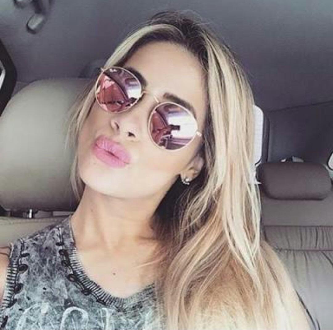 77736b116b54a Óculos Round Redondo Feminino Masculino Várias Cores - R  39,90 em ...