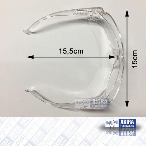 a198c67c7ec3d óculos segurança 3m vision 2000 anti riscos incolor 5 peças. Carregando zoom .