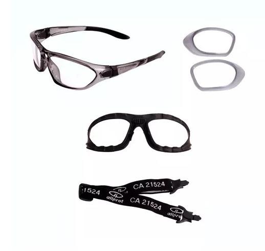 260026d3d72db óculos segurança netuno com mascara para todos tipos de grau · óculos  segurança com