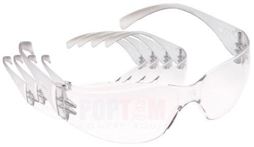 7c9699f36ca32 Óculos Segurança Epi 3m Kit C 5 Virtua Proteção Trabalho - R  37,10 ...