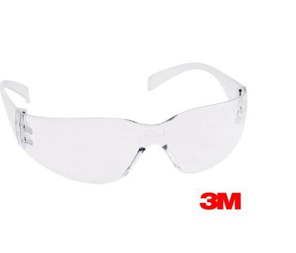 00b4822359bd9 Óculos Segurança Epi 3m Virtua Incolor Epi Anti Risco Top - R  13