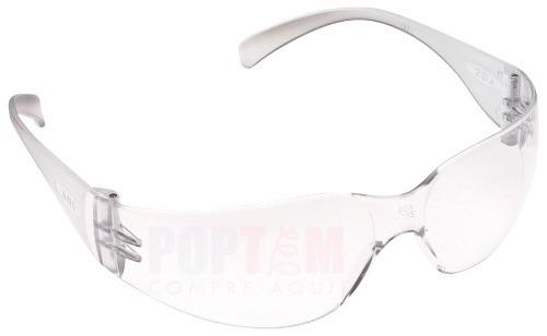 e57eff69ec922 Óculos Segurança Epi 3m Virtua Incolor Proteção Trabalho - R  13