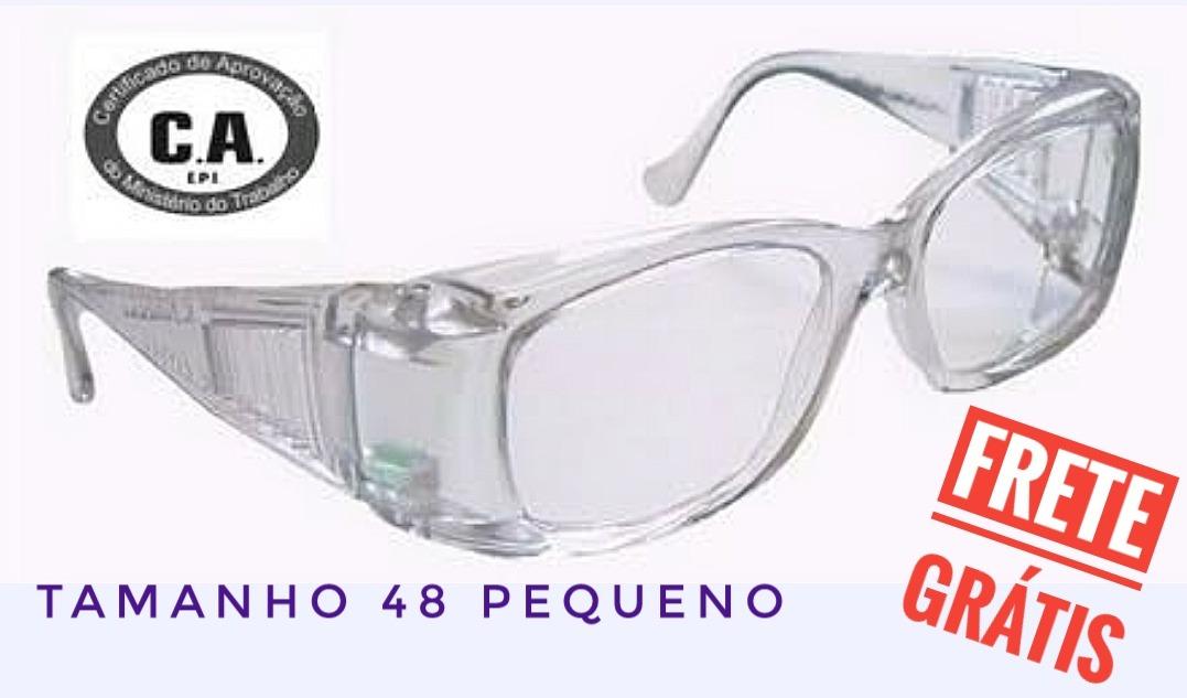 50f9e4b1c4c19 óculos segurança proteção epi graduados p  grau - pequeno. Carregando zoom.