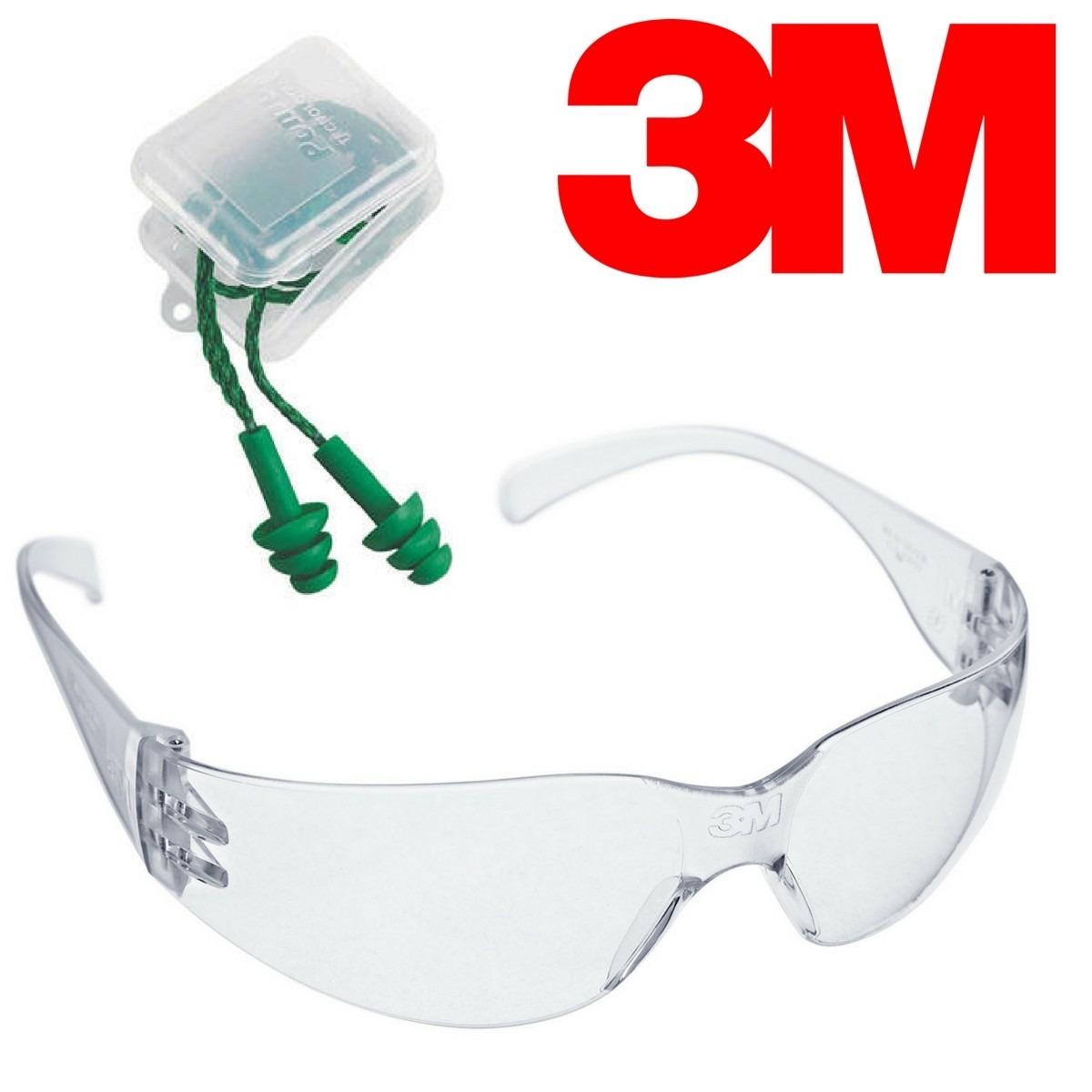 3165427b085db oculos segurança trabalho kit 3m+protetor auricular auditivo. Carregando  zoom.
