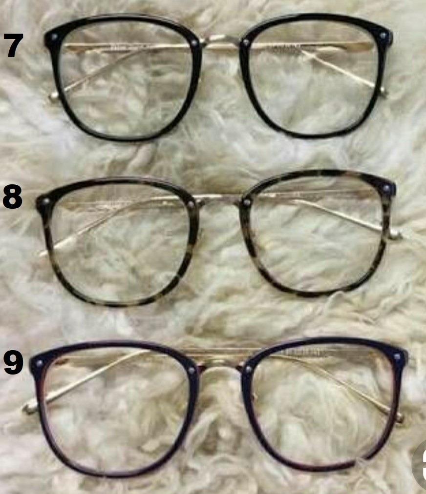 óculos sem grau falso armação transparente lindo moda barato. Carregando  zoom. 711df321b7