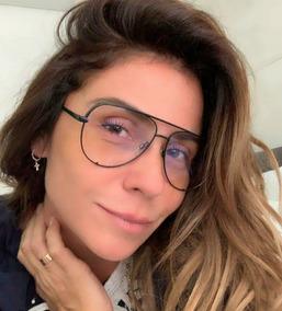 9e16a185b Oculo Aviador Falso - Óculos no Mercado Livre Brasil