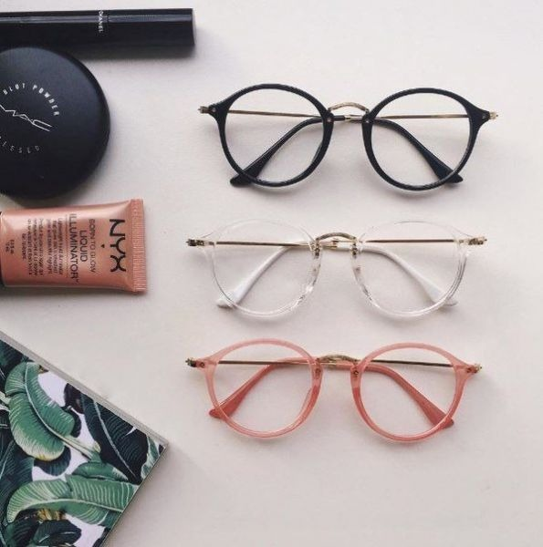 a4b531e8af8ff Óculos Sem Grau Lente Transparente Promoção Tumblr - R  61