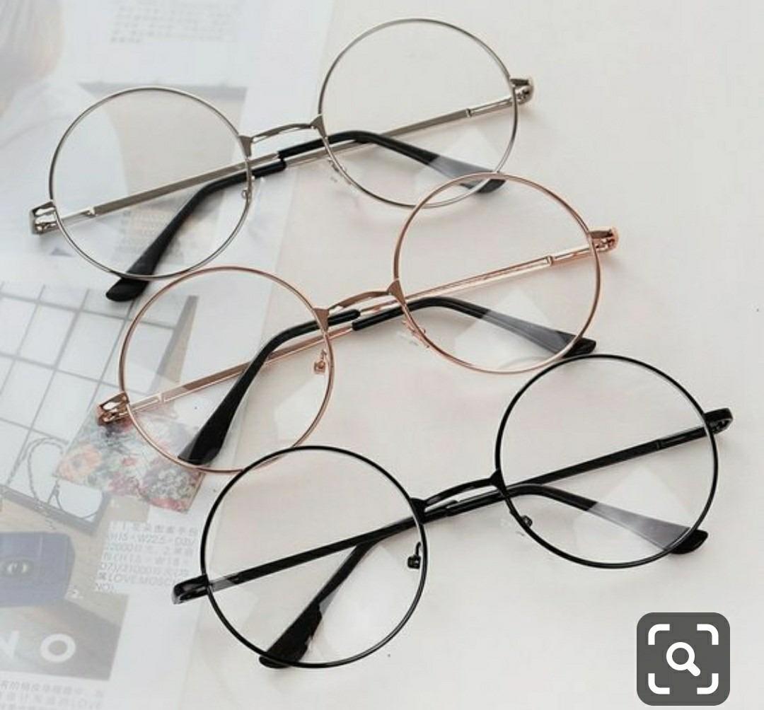 óculos sem grau transparente dia noite estiloso falso round. Carregando  zoom. ccf3acd0ae
