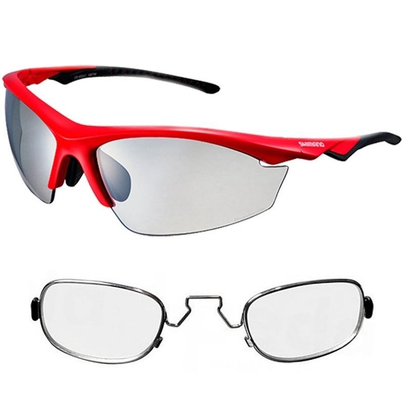 0a29629993f98 Óculos Shimano Ce-eqx2-ph Vermelho Fotocromático + Rx Clip - R  419 ...