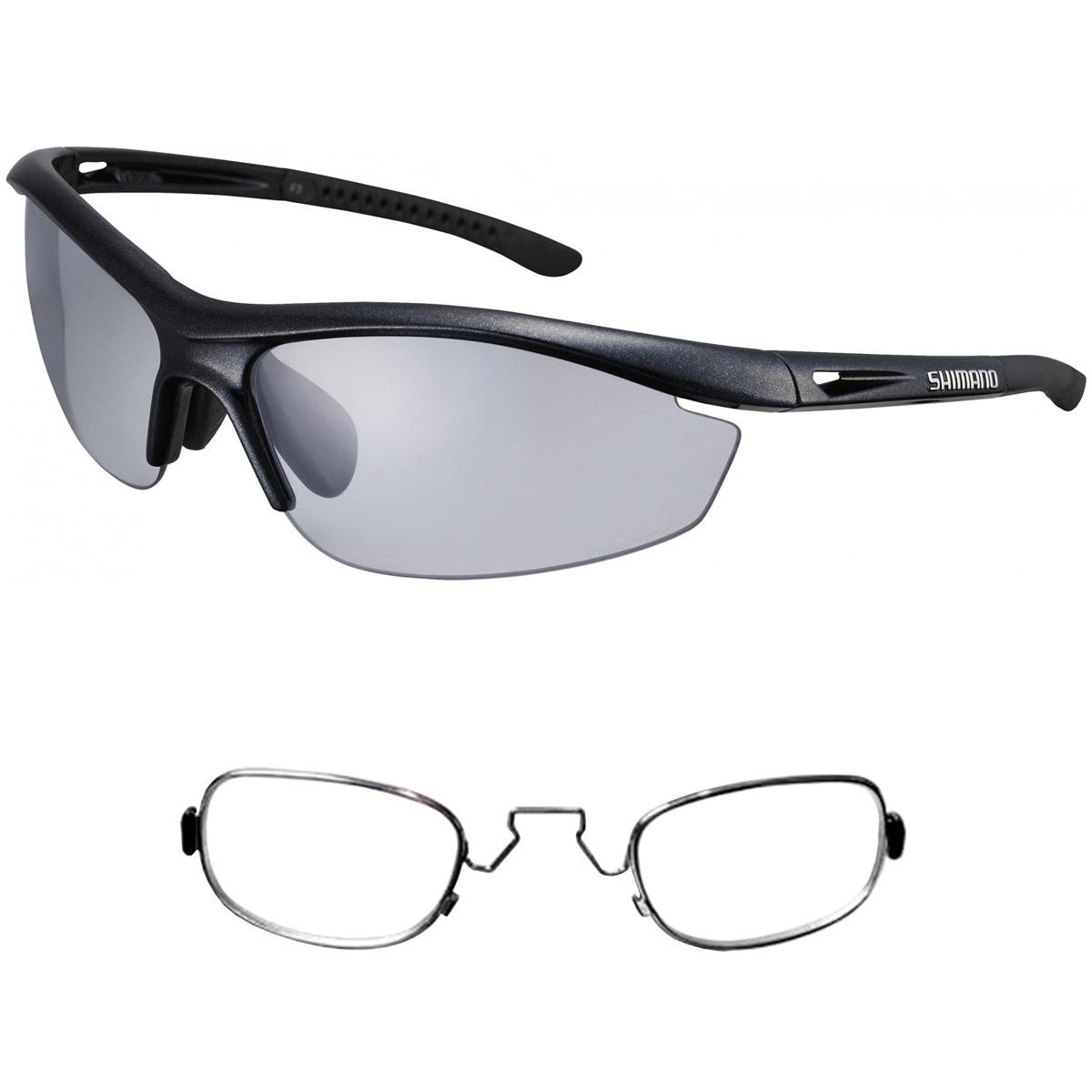 c2bec3a3e9e3e óculos shimano ce-s20r-ph preto fotocromático + rx clip. Carregando zoom.
