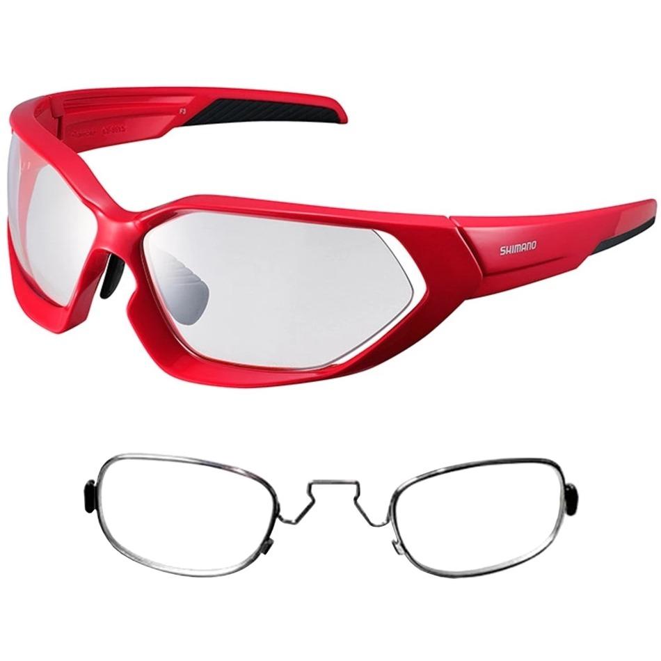 e427fca1fb4e6 óculos shimano ce-s51x-ph fotocromático vermelho + rx clip. Carregando zoom.