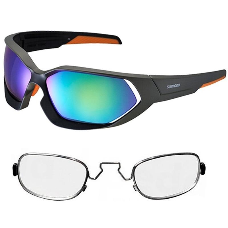 Óculos Shimano Ce-s51x Verde Fosco 2 Lentes + Rx Clip - R  379,90 em ... a087de8be3
