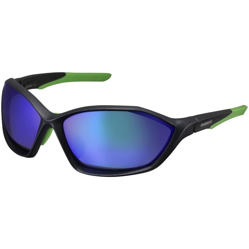 874f1e319c624 óculos shimano ce-s71x-pl preto verde polarizado 2 lentes. Carregando zoom.
