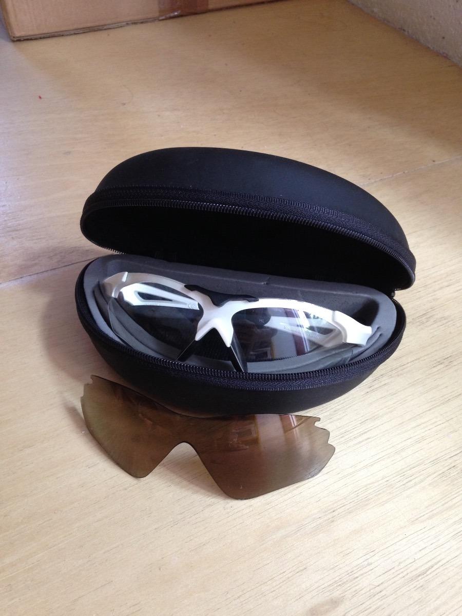 óculos shimano feminino ce-s40rs branco metálico   2 lentes. Carregando  zoom. e6b1aab449