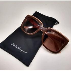 Óculos Sol - Salvatore Ferragamo Sf758s - 255x140 - Original