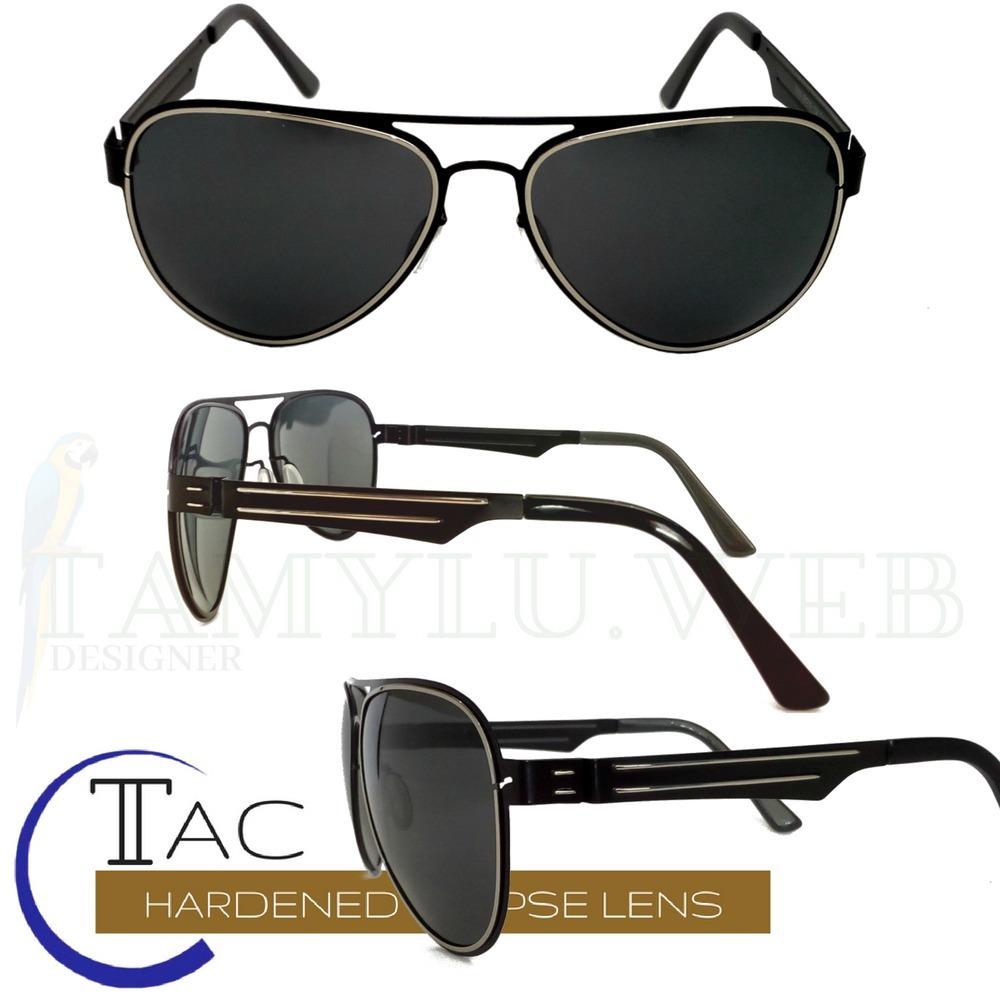 0a78bb1e3ab05 óculos sol 100% polarizado feminino masculino aviador. Carregando zoom.