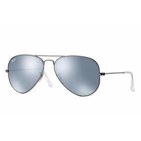 dbb658d9f1af0 Oculos Ray Ban Aviator Tamanho 58 - Óculos De Sol Ray-Ban Aviator no ...