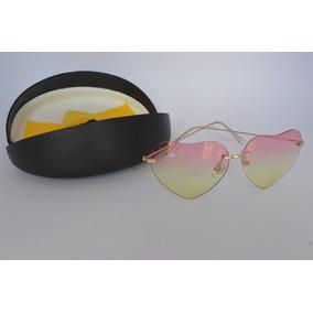 69e6b95696b24 Óculos De Sol De Coração Lente Transparente Frete Grátis - Óculos no ...