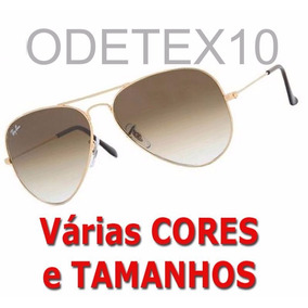 7782278e4b3b9 Oculos Sol Aviador Lente Amarela De - Óculos no Mercado Livre Brasil