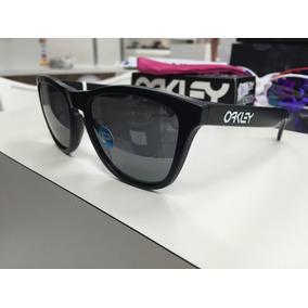 40990b3418d47 Oakley Frogskins Preto Fosco Polarizado - Óculos no Mercado Livre Brasil