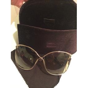 185a06fa8ea36 Óculos Tom Ford Feminino Original Modelo Emmeline Tf 155