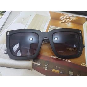 587fbb6b407fb Oculos De Sol Mascara Quadrado Feminino Marrom Frete Gratis - Óculos ...