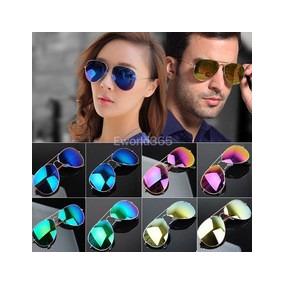 48ee60e4749d5 Oculos Aviador Espelhado Azul Escuro - Óculos no Mercado Livre Brasil