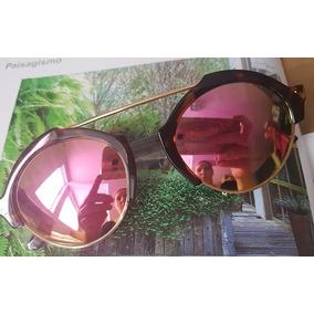 54e57e4beb232 Kit 5 Óculos Sol Feminino Milano Aro Doura Sem Marca Atacado
