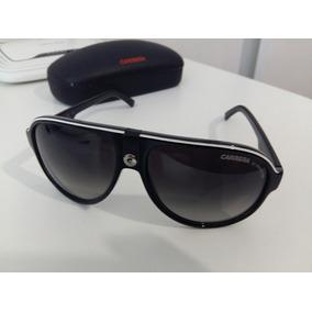 77bb9bf507e8f Óculos Carrera 32 8v690 Óculos De Sol Preto Com Branco - Óculos ...