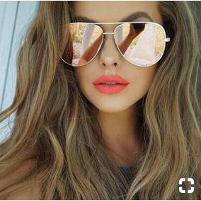 f6de043121bdb Oculos Feminino Espelhado Rosa Pink - Óculos De Sol no Mercado Livre ...