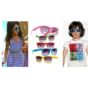 7f2207f9c Óculos Menino Menina De Sol Moda Verão Infantil Colorido · R$ 34 64