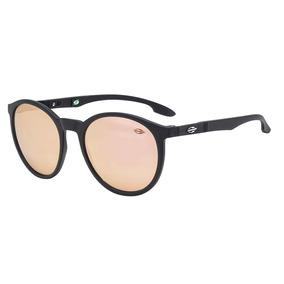 eb3c7b75f1200 Óculos De Sol Maui Preto Com Lente Espelhada Rose Mormaii